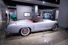 Convertibile 1953 di Nash-Healey dell'argento dal Farina di Pinin fotografia stock