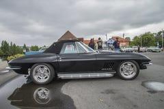 Convertibile 1967 di stingray 496 di Chevrolet Corvette Fotografie Stock