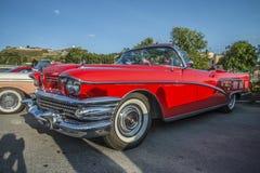 Convertibile limitato 1958 di Buick Fotografia Stock Libera da Diritti