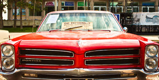 Convertible 1965 de Pontiac GTO de classique image stock