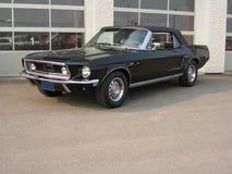 Convertible 1968 del mustango de Ford Foto de archivo libre de regalías
