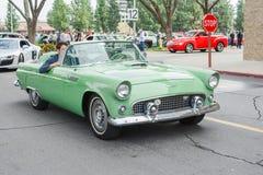 Convertible Cadillac  classic car on display Stock Image