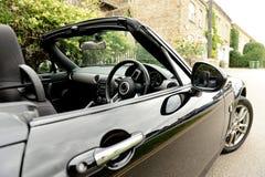 Convertible car royalty free stock image