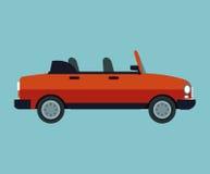 Convertible car sport vehicle. Vector illustration eps 10 vector illustration
