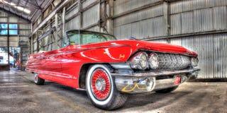 Convertible clásico de Cadillac del americano de los años 60 Fotos de archivo libres de regalías