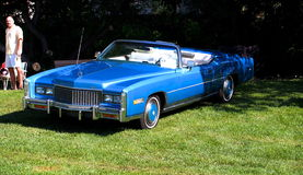 Convertible clásico restaurado de Cadillac Foto de archivo libre de regalías