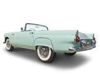 1955 T-Bird Convertible Stock Photos