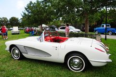 Convertible Corvette Royalty Free Stock Images