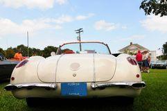 Convertible Corvette Stock Images