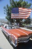 Convertible d'antiquité dans le défilé du 4 juillet, Lima, Montana photos stock
