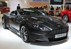 Convertible d'Aston Martin DBS Photo stock