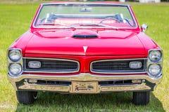 Convertible 1966 da tempestade de Pontiac Imagem de Stock