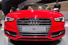 Convertible 2016 de Audi S5 Fotos de archivo