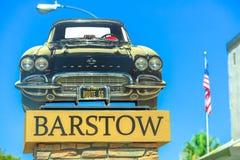 Convertible de Barstow Corvette photo libre de droits