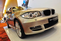 Convertible de BMW 120i Photos libres de droits