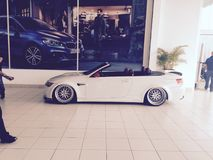 Convertible de BMW M3 imagens de stock royalty free