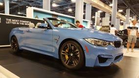 Convertible de BMW M4 Foto de archivo libre de regalías