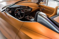Convertible de BMW Z4 - prototype images libres de droits