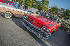 Convertible 1958 de Buick Limited Photographie stock libre de droits