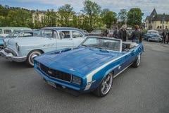 Convertible 1969 de Chevrolet Camaro solides solubles 396 Image libre de droits