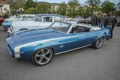 Convertible 1969 de Chevrolet Camaro solides solubles 396 Photos libres de droits