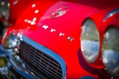 Convertible 1962 de Chevrolet Corvette Images libres de droits