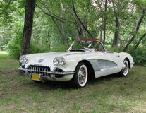 Convertible de Chevrolet Corvette Image stock