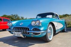 Convertible 1959 de Chevrolet Corvette Fotografía de archivo
