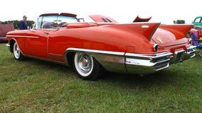 Convertible de Eldorado de 58 Cadillac Fotos de archivo
