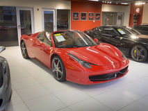 Convertible de Ferrari 457 Spyder Images stock