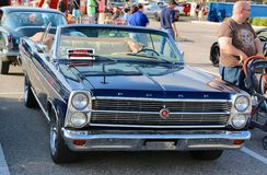 Convertible 1967 de Ford Galaxie 500 XL Images libres de droits