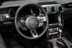 Convertible 2018 de la meilleure qualité de Ford Mustang Ecoboost Photo libre de droits