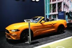 Convertible 2018 de la meilleure qualité de Ford Mustang Ecoboost Images libres de droits