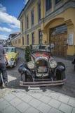 Convertible 1928 de la puerta de Chrysler 4 Imágenes de archivo libres de regalías
