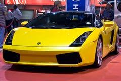 Convertible de Lamborghini Galliardo - parte dianteira - MPH imagem de stock royalty free