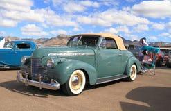 Convertible de lujo especial 1940 de Chevrolet imagen de archivo libre de regalías