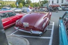 convertible 1941 de porte de Cadillac 2 Images libres de droits