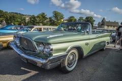 Convertible 1960 de porte du Newyorkais 2 de Chrysler Photographie stock libre de droits