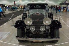 Convertible del automóvil descubierto de Cadillac V-16 Imagenes de archivo