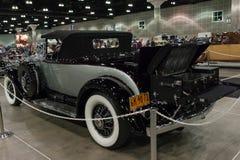 Convertible del automóvil descubierto de Cadillac V-16 Fotos de archivo libres de regalías