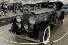 Convertible del automóvil descubierto de Cadillac V-16 Foto de archivo libre de regalías