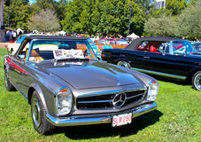 Convertible del Benz de Mercedes del vintage Foto de archivo libre de regalías