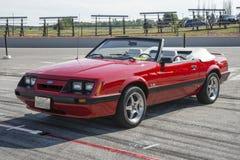 convertible 1983 do mustang Imagem de Stock