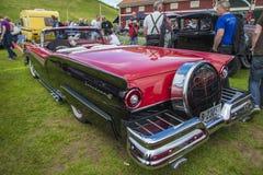 1957 convertible du fairlane 500 de gué Image libre de droits