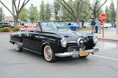 Convertible Ford Studebaker classic car on display Royalty Free Stock Images