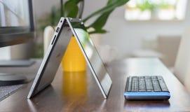 Convertible laptop Stock Photo