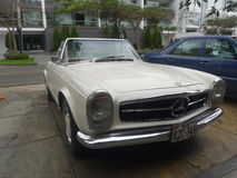 Convertible Mercedes Benz 230 SL Royalty Free Stock Photo