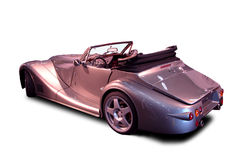 Convertible - silver luxury Royalty Free Stock Image