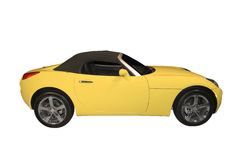 Convertible Sports Car Royalty Free Stock Images