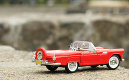 Convertible toy car Stock Photo